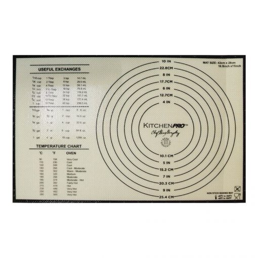Pastry Mat with Measurement
