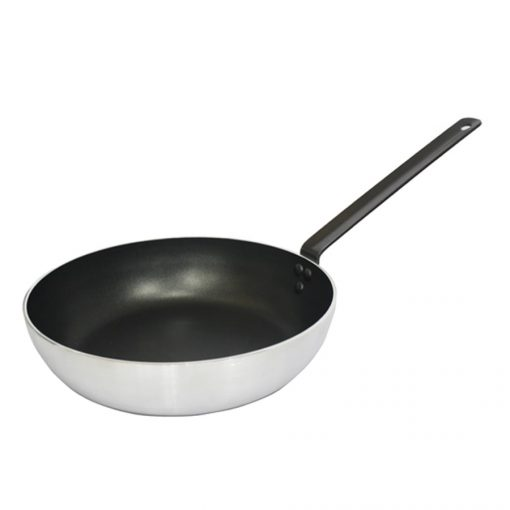 "11"" Aluminum Induction Deep Stirfry Pan with Non-Stick Coating"