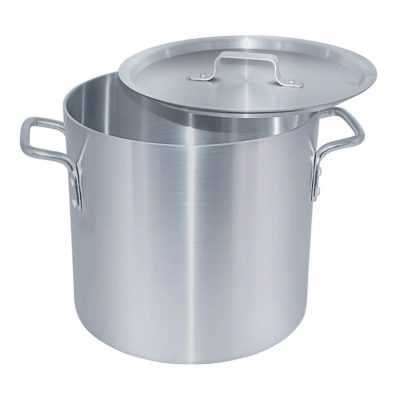 32 Quarts Aluminum Stock Pot with LID