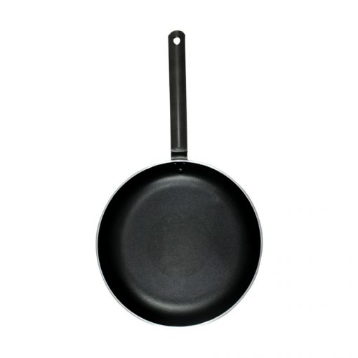 "9"" Aluminum Induction Deep Stirfry Pan with Non-Stick Coating"