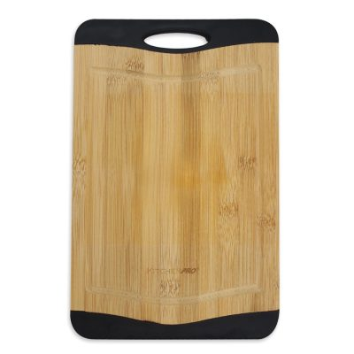 Reversible Non-Slip Bamboo Chopping Board (Large)