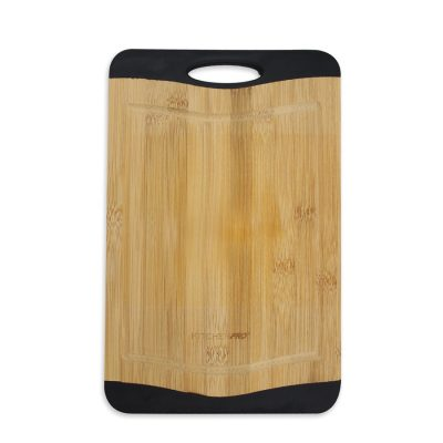 Reversible Non-Slip Bamboo Chopping Board (Medium)