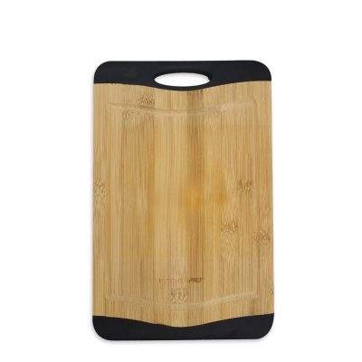 Reversible Non-Slip Bamboo Chopping Board (Small)