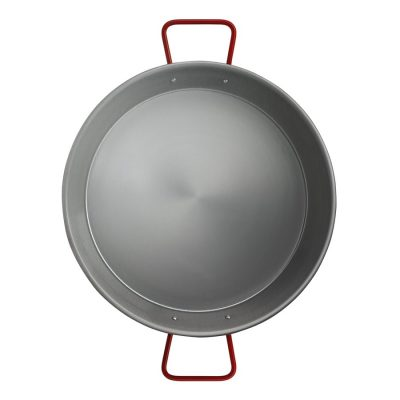 Valencia 30 cm Induction Aluminized Carbon Steel Paella Pan