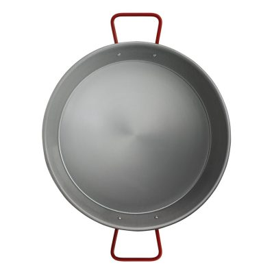 Valencia 34 cm Induction Aluminized Carbon Steel Paella Pan