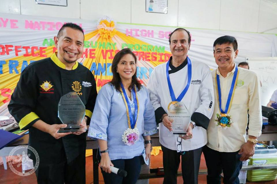 MASFLEX KITCHENPRO'S CULINARY SOCIAL RESPONSIBILITY PARTNERSHIP WITH VICE-  PRESIDENT'S ANGAT BUHAY PROGRAM