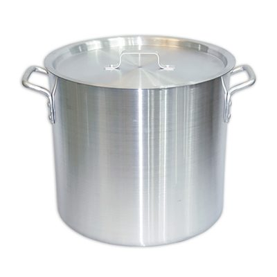 56.78 Quartz Aluminum Stockpot with Lid