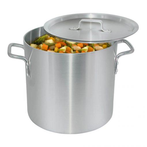 8 Quarts Aluminum Stock Pot with LID