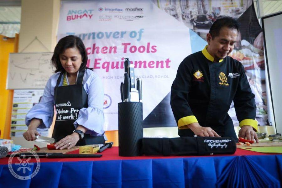 CSR Partnership with OVP Angat Buhay in Panglao, Bohol